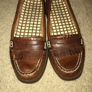 Sperry Top Sider Brown Loafers